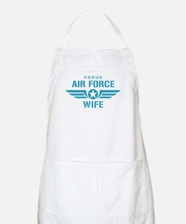Proud Air Force Wife W Apron