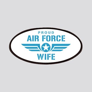 Proud Air Force Wife W Patches
