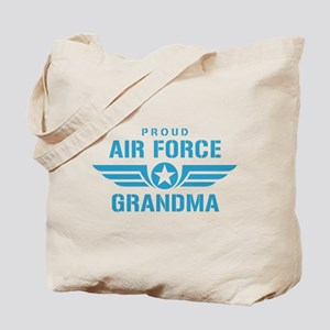 Proud Air Force Grandma W Tote Bag
