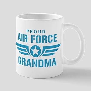 Proud Air Force Grandma W Mug
