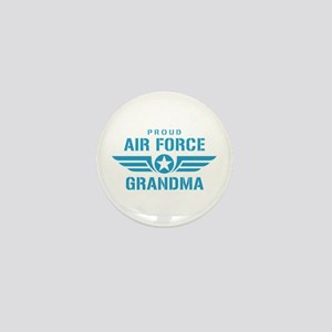 Proud Air Force Grandma W Mini Button
