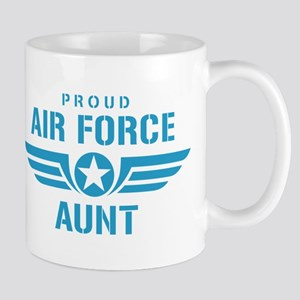Proud Air Force Aunt W Mug