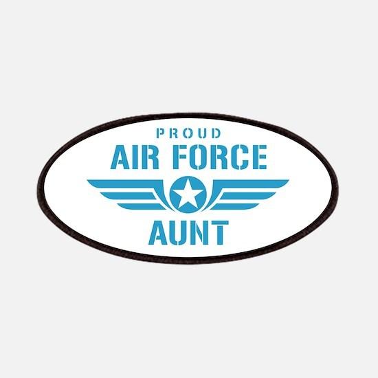 Proud Air Force Aunt W Patches