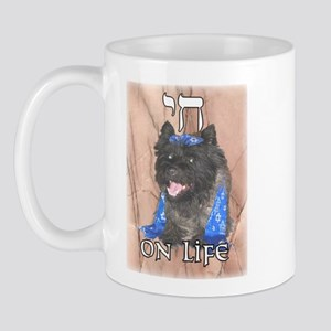 """Chai on Life"" Cairn Terrier Mug"