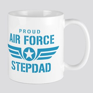 Proud Air Force Stepdad W Mug