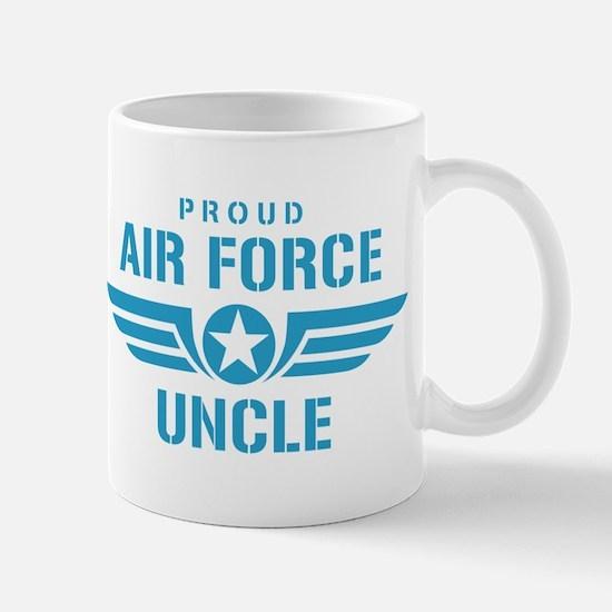 Proud Air Force Uncle W Mug