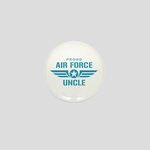 Proud Air Force Uncle W Mini Button