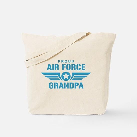 Proud Air Force Grandpa W Tote Bag