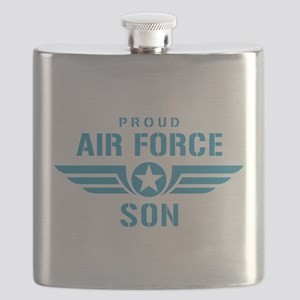 Proud Air Force Son W Flask