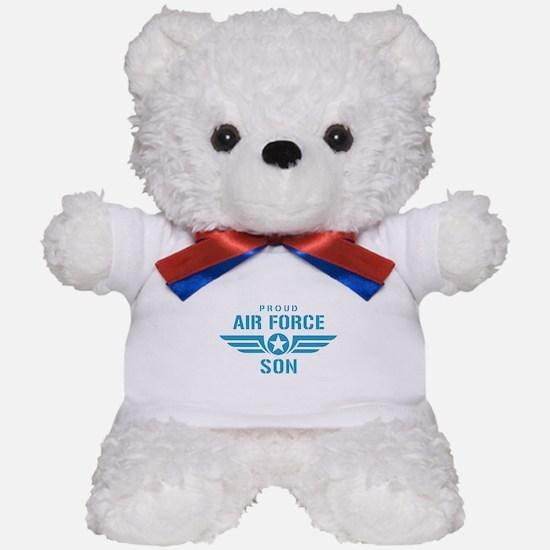 Proud Air Force Son W Teddy Bear
