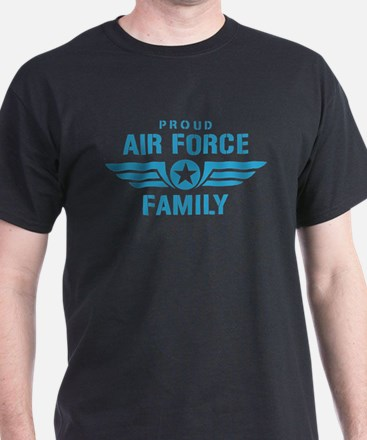 Proud Air Force Family W T-Shirt