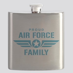 Proud Air Force Family W Flask