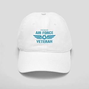 Proud Air Force Veteran W Cap