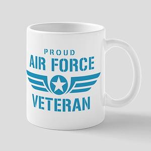 Proud Air Force Veteran W Mug
