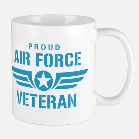 Proud Air Force Veteran W Mug