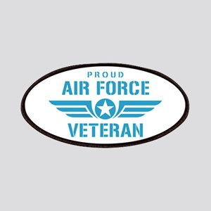 Proud Air Force Veteran W Patches