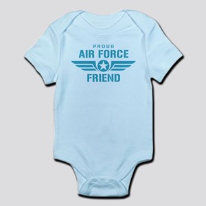 Proud Air Force Friend W Infant Bodysuit