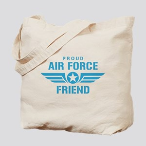 Proud Air Force Friend W Tote Bag