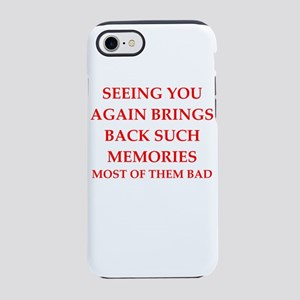 memories iPhone 7 Tough Case