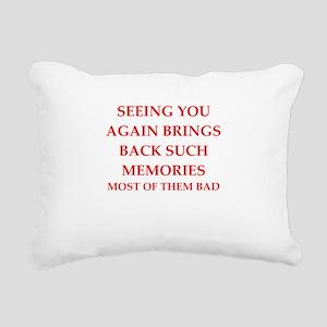 memories Rectangular Canvas Pillow