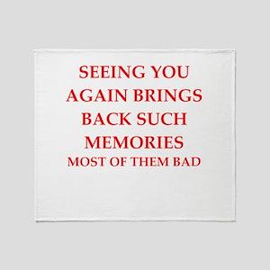 memories Throw Blanket