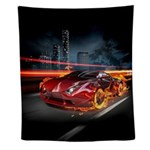 Hot Car Fantasy Wall Tapestry