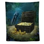 Treasure Chest Wall Tapestry