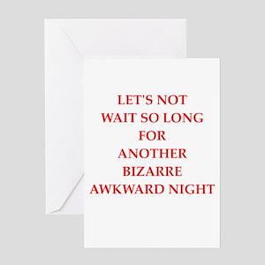 night Greeting Cards