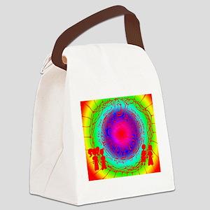 An Interesting World Canvas Lunch Bag