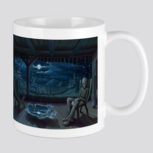Alien on Earth Mug