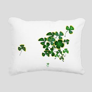 The Green Rectangular Canvas Pillow