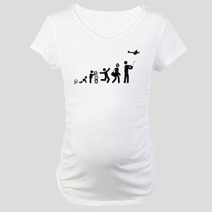 RC Airplane Maternity T-Shirt