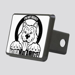 """I'm Not Husky! I'm a Malamute"" Hitch Cover"