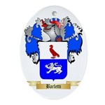 Barletti Ornament (Oval)