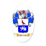 Barletta Oval Car Magnet