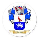 Barletta Round Car Magnet