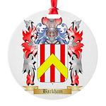 Barkham Round Ornament