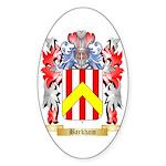 Barkham Sticker (Oval)