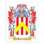 Barkham Small Poster