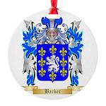 Barker Round Ornament