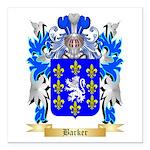 Barker Square Car Magnet 3