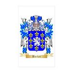 Barker Sticker (Rectangle 50 pk)