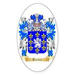 Barker Sticker (Oval)