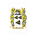 Baring Sticker (Rectangle 50 pk)