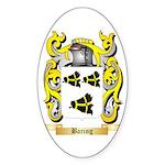 Baring Sticker (Oval 10 pk)