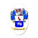 Barilone Oval Car Magnet