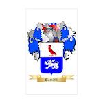 Bariletti Sticker (Rectangle 50 pk)