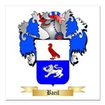 Baril Square Car Magnet 3