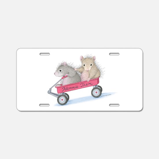 The WeePoppets® Aluminum License Plate