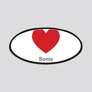 Sonia Big Heart Patches